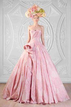 Draped Silk Brocarde Gown  Photographer: Odette Kahwaji  Makeup: Fady Kataya  Hair: Salon Le Jack  Model: Velvet Model Management