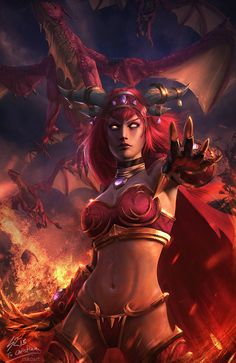 Alexstrasza the Life-Binder - World of Warcraft | raikoart on DeviantArt