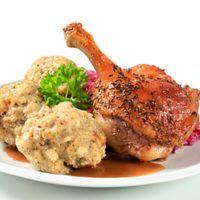 Recept : Tyrolské knedlíky | ReceptyOnLine.cz - kuchařka, recepty a inspirace Food And Drink, Meat, Chicken, Cooking, Kitchen, Brewing, Cuisine, Cook, Cubs
