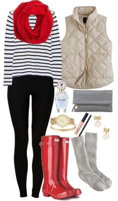 Preppy -- cute for Christmas shopping