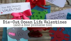 Ocean Life Valentine
