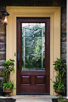 1000 images about doors on pinterest wood entry doors for Therma tru maple park