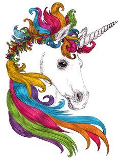 Unicorn by emre celik, via Behance