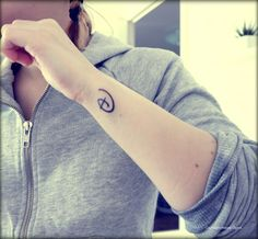 Disney tattoo via Tattoologist  www.rodeo.net/tattoologist Bradley :)