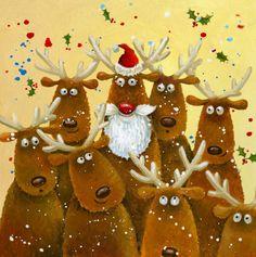 653-santa-reindeers