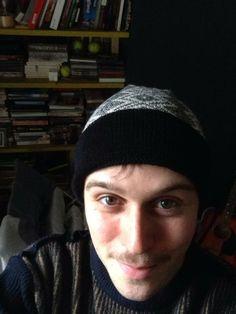 Actor Geoffrey Breton in a bespoke Wool & Water Beanie