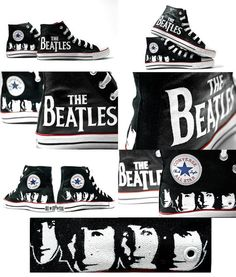 The Beatles Converse...I WANT THESE!!!!!!!!!!!!!!!!!!!!!!!!