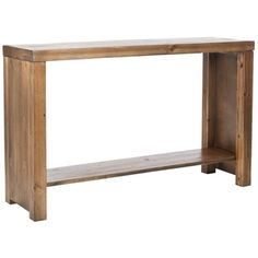 @Overstock.com - Stamford Reclamined Wood Finish Console Table - Enjoy a rustic addition to your hall or sitting room with this finished wood console table from Stamford. The table has a natural finish, and it will look great as a hall storage option. Pop your phone, keys, or scarf on it when you come home from work.  http://www.overstock.com/Home-Garden/Stamford-Reclamined-Wood-Finish-Console-Table/6248037/product.html?CID=214117 $160.99