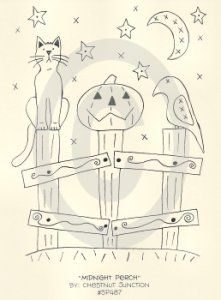 Midnight Perch  :)