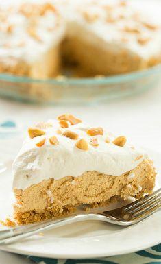 No-Bake Peanut Butter Lover's Pie Recipe