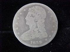 1838 Bust Half Dollar 50c VG Condition Priced Low 2 Sell LQQK   eBay