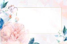Download premium vector of Flower pink background wallpaper vector 679956 Flower background wallpaper Pink wallpaper backgrounds Floral background