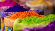 Let the different colors unite us in this celebration of joy!.... Hatke Films #HappyHoli