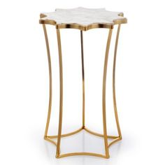 "Leyla Table from Z Gallerie 18.25"" H $159"