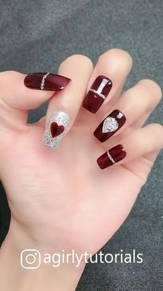 Some Cute and Easy Nail Art Tutorials [Video] [Video] in 2020 (With videos) Funky Nail Art, Easy Nail Art, Nail Art Designs Videos, Cute Nail Designs, Ongles Funky, Cute Nails, Pretty Nails, Gel Nails, Nail Polish