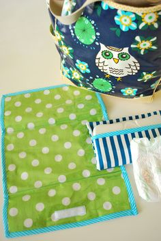 Changing Pad and Wipes Case Cover Tutorial part 1