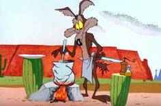 This is the episode where the Coyote FINALLY catches the road runner, enjoy! Looney Tunes Characters, Classic Cartoon Characters, Looney Tunes Cartoons, Favorite Cartoon Character, Classic Cartoons, Good Cartoons, Old School Cartoons, Animated Cartoons, Funny Cartoons