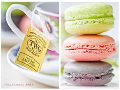FRENCH MACAROONS AND TEA