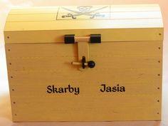 Skarby Jasia - piracka skrzynia na zabawki
