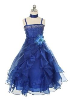 New-Royal-Blue-Flower-Girls-Dress-Pageant-2-14-Easter-Jr-Bridesmaid-Fancy-1101C