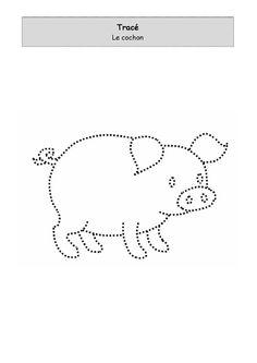 Cochon à tracer