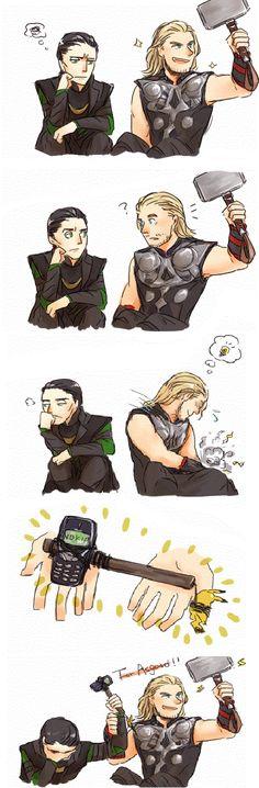 Loki and Thor Fan Art