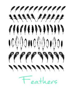 Hey, I found this really awesome Etsy listing at https://www.etsy.com/listing/227357254/feather-vinyl-nail-stickers