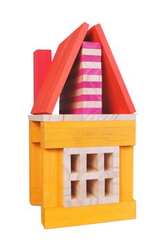 Hot Color Building Blocks from CitiBlocs. Featuring 5 different vibrant colors to add a little pizzazz to building fun.
