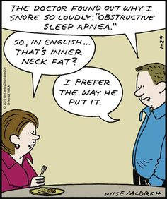 I'm gonna start saying this instead of obstructive sleep apnea #healthcare #medical #humor