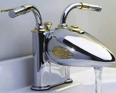 For the man cave bathroom!