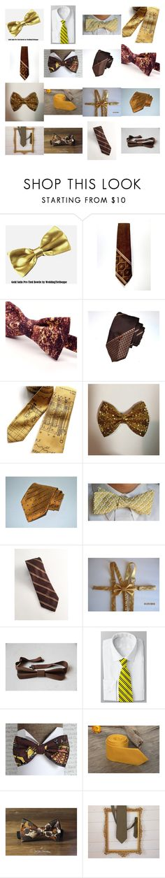 """Tie One On!"" by kateduvall ❤ liked on Polyvore featuring Pierre Cardin, JoS. A. Bank, Christian Dior, vintage, men's fashion and menswear"
