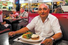 For 25 years, Tommy Pappas was content to be a behind-the-scenes guy at the Greek Festival.