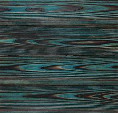 Shou Sugi Ban Rustic Turquoise