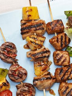 Chicken and Pineapple Skewers from FoodNetwork.com