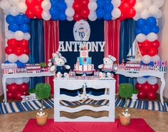 Sailor Bear Party Decor by Katia Ribeiro - DK Events Richmond