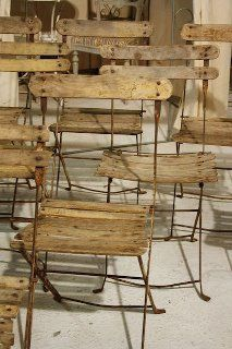 Folding Cafe Chair Archetype