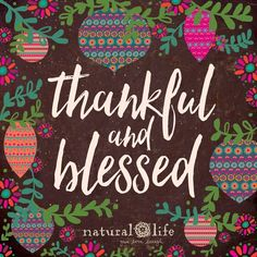 Thankful & Blessed!
