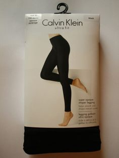 These Ultra Fit Shaper leggings by Calvin Klein are designed to help smooth and shape natural curves to create a very flattering outline. Cool Style, My Style, Leggings, Tights, Prompts, Drugs, Calvin Klein, Abs, Weight Loss