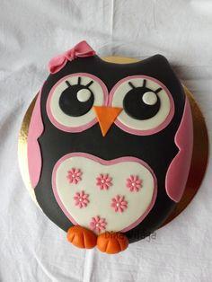 Bagoly torta / Owl cake - GasztroBlogok.hu