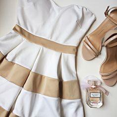 "Strapless Skater Dress NWOT strapless skater dress with padding in top and a sweetheart neckline! 23"" long. Zipper on back. WINDSOR Dresses Strapless"