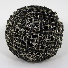 Binder Clip Sphere by Zachary Abel #Binder_Clip #Sphere