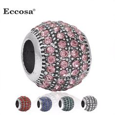 1Pcs Silver Plated Spacer Charm Bead Micro Pave Crystal Ball Beads Fit For European Pandora Charms Bracelet Berloques  http://playertronics.com/product/1pcs-silver-plated-spacer-charm-bead-micro-pave-crystal-ball-beads-fit-for-european-pandora-charms-bracelet-berloques/