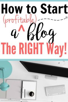 If you want to make money from blogging, you need to start here!! She really goes into detail about how EXACTLY to start a profitable blog the…