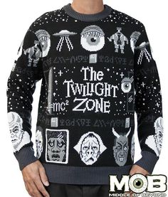 Twilight Zone Sweater