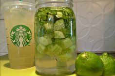 Starbucks Cool Lime Refresher Copy Cat Recipe! Hopefully this is as good as the real deal!