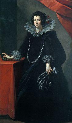 Portrait of a Lady, Carlo Francesco NUVOLONE, ca. 1635. Bologna, Palazzo Accursio