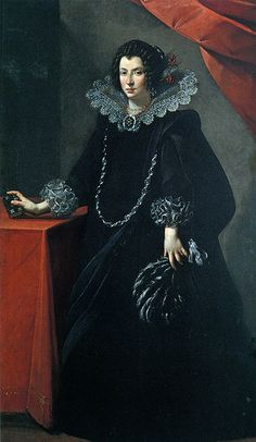 Portrait of a Lady, Carlo Francesco NUVOLONE, ca. 1635. Bologna, Palazzo Accursio  #TuscanyAgriturismoGiratola