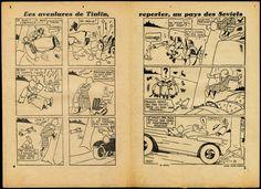 Le monde d'Hergé Arc-et-Senans Tintin au pays des Soviets