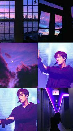 Got7 Jackson, Jackson Wang, Got 7 Wallpaper, Got7 Aesthetic, Purple Themes, Reasons To Live, Pop Songs, Number Two, Purple Aesthetic
