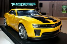 Transformers Bumblebee- after he turned himself into a 2010 Camaro